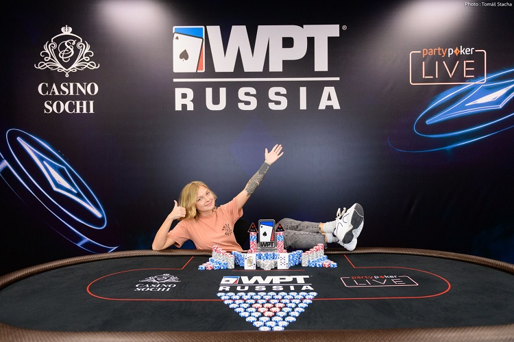 Итоги Ladies Event WPT Russia